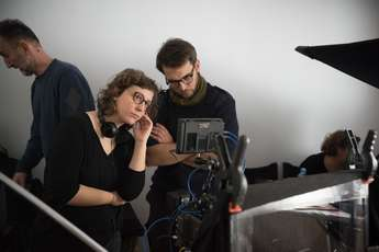 Urška Djukić (Director) and Lev Predan Kowarski (Director of Photography) - Foto SEE Factory